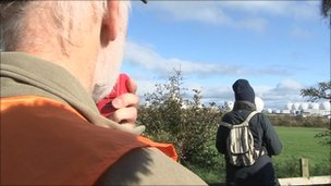 'Guided walk' around Menwith Hill electronic defence base