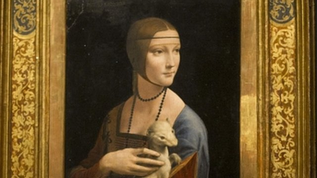 Portrait of Cecilia Gallerani&quot; (The Lady with an Ermine)
