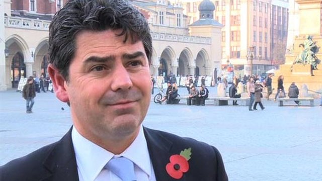 Managing director of club England Adrian Bevington