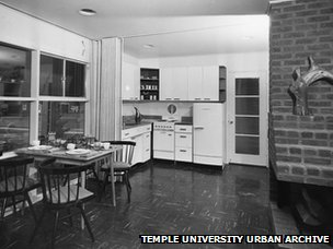 Kitchen of Levittown home