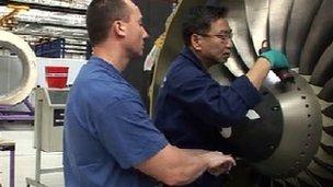Snecma engine production