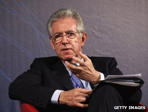 Italy:Monti to lead centrist coalition in upcoming elections