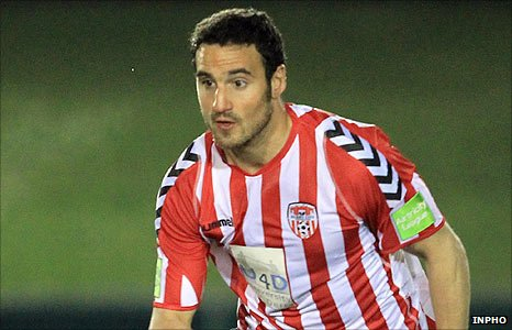 Derry City striker Eamon Zayed