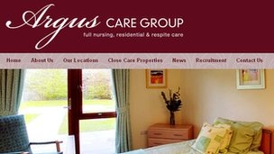 Argus Care Group website