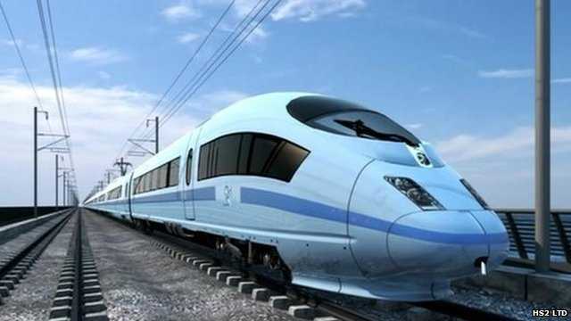 HS2 project would cut the London to Birmingham journey time to 49 minutes