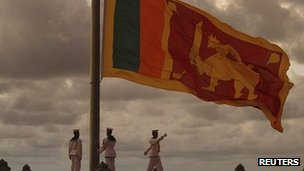 Military ceremony at Galle Face, Colombo, Oct 2011