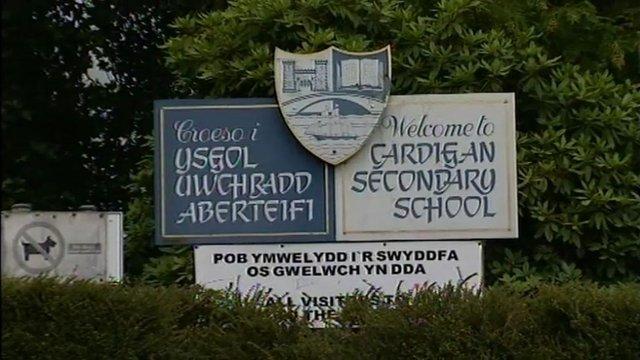 School signpost