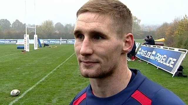 England's Sam Tomkins