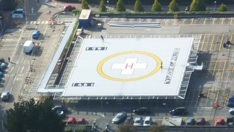 Helmer to spruce up helipad