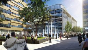 Artist's impression of Union Square