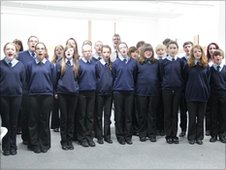Choir at William Brookes School
