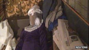 Size doll found in anatoly moskvin's flat in nizhny novgorod, russia