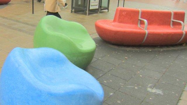 'Plasticine' tribute seats in North Shields