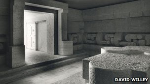 Silvio Berlusconi's tomb