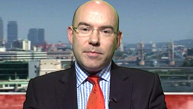Dr Neil Bentley, Deputy Director General of CBI