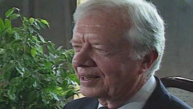 Jimmy Carter in Swansea