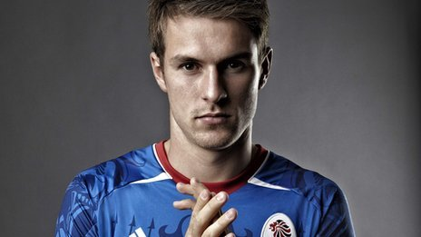 Aaron Ramsey happy to be pictured in GB Olympics shirt