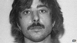 Police photo of Brian Dugan in 1985