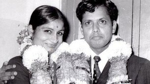 Rajini's parents' wedding in 1975