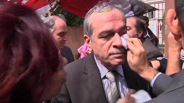 Damascus-based Syrian opposition representative Abdelaziz Khayer