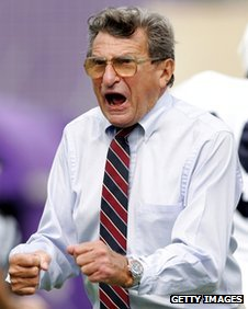 Joe Paterno 24 September 2005