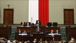 Poland&#039;s lower house of parliament
