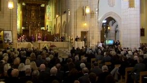 Requiem Mass for Sir Jimmy Savile