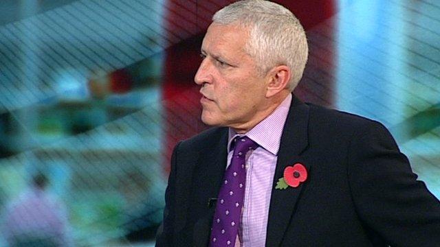 Former FA Chief Executive Mark Palios