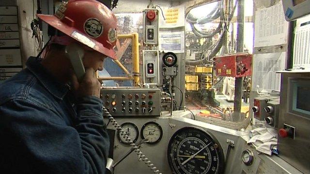 Perdido oil rig worker