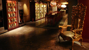 Restaurant interior 