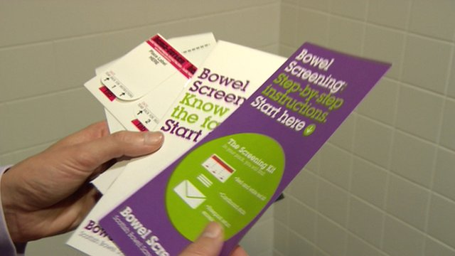 Bowel screening information leaflets