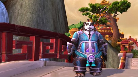 World of Warcraft game character