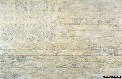 White Flag by Jasper Johns, 1955