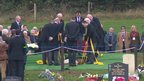Jimmy Savile internment, Woodlands cemetery, Scarborough