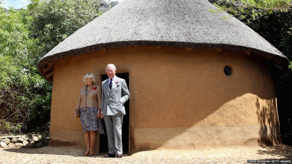 Prince Charles, Prince of Wales, and Camilla, Duchess of Cornwall, visit Kirstenbosch Gardens on day four of a five-day tour of South Africa