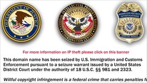 FBI take0down notice for closed website