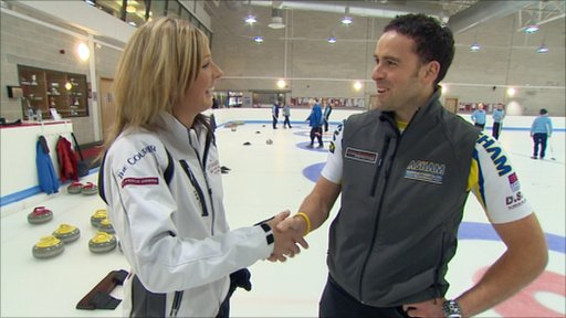 Eve Muirhead (left) and David Murdoch