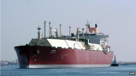 A LNG tanker