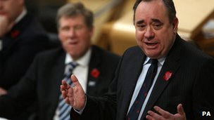 Alex Salmond won the award for Scottish Politician of the Year