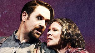 Michael Ball and Imelda Staunton in Sweeney Todd