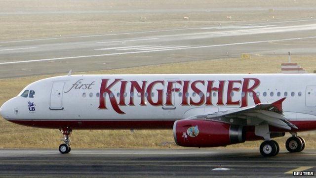 BBC News - India Kingfisher Airlines crisis worsens as shares fall