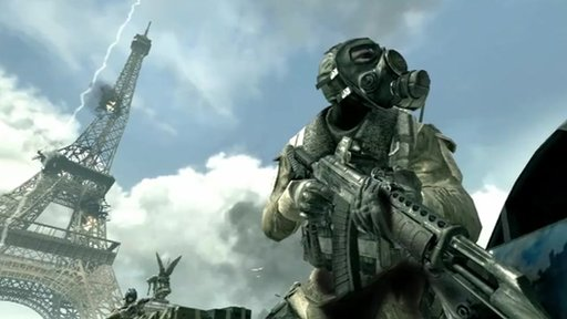 Still from Call of Duty: Modern Warfare 3