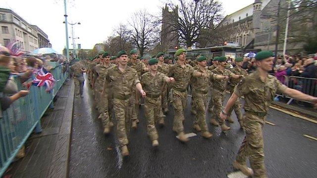3 Commando parade
