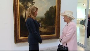 Tracey Emin meets the Queen