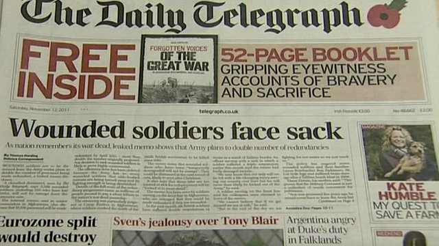 Daily Telegraph report