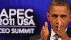 Barack Obama speaks at Apec summit in Hawaii. Photo: 12 November 2011
