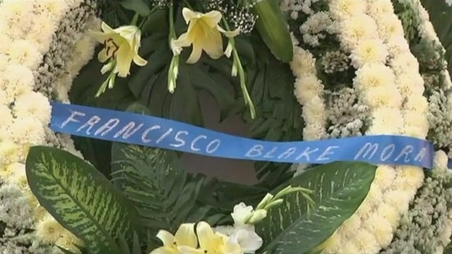 Wreath for Francisco Blake Mora