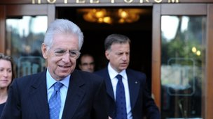 Mario Monti - 13/11/11