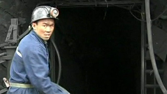 China rescue worker