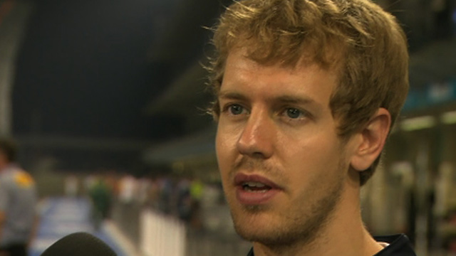 World champion Sebastian Vettel